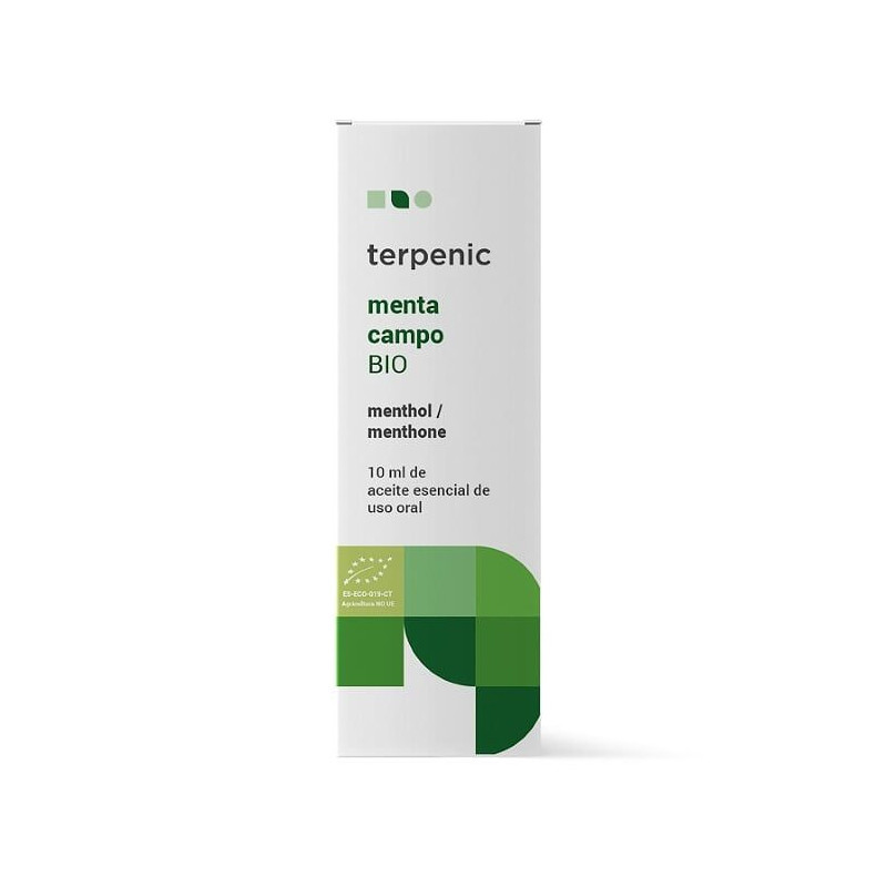 Aceite esencial de menta de campo BIO 10 y 30 ml.