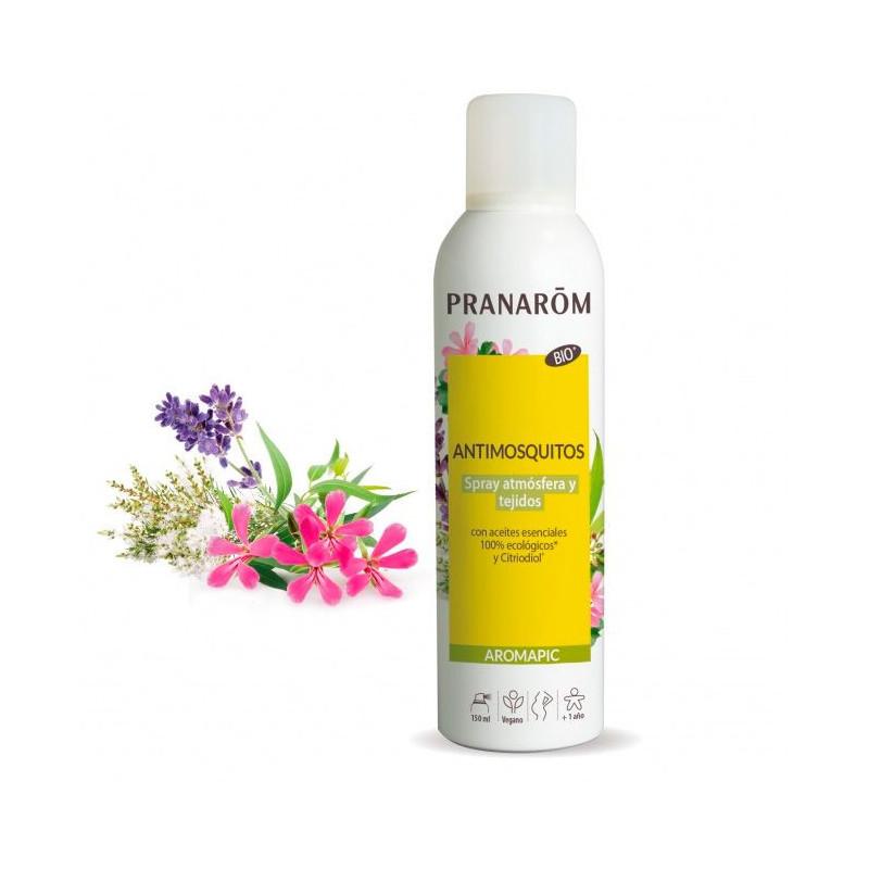Spray Antimosquitos Bio - Atmósfera & tejidos - 150 ml - Aromapic