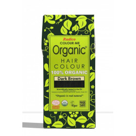 Tinte vegetal para cabello castaño oscuro BIO 100 gr.