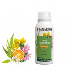 Spray Purificador con Naranja dulce y Ravintsara Bio 75 ml.- Aromaforce