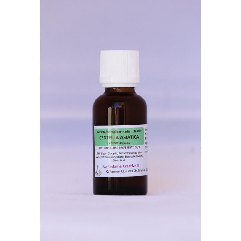 Extracto hidroglicerinado de centella asiática BIO 60 ml.